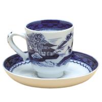 Blue Canton Demi Cup/Saucr Set | Gracious Style