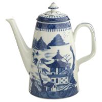 Blue Canton Coffeepot | Gracious Style