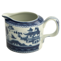 Blue Canton Cream Pitcher | Gracious Style
