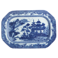 Blue Canton Cookie Plate | Gracious Style