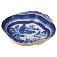 Blue Canton Shell Dish | Gracious Style