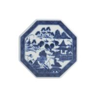 Blue Canton Octagonal Tile | Gracious Style