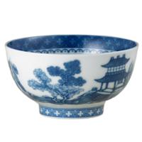 Blue Canton Dessert Bowl | Gracious Style