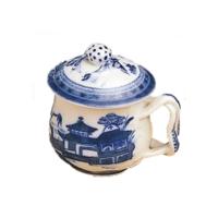 Blue Canton Pot De Creme & Lid | Gracious Style