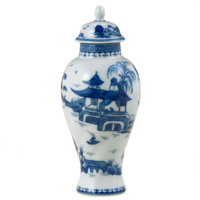 Blue Canton Sm Covered Jar | Gracious Style