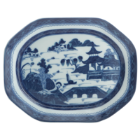 Blue Canton Small Platter | Gracious Style