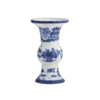 Blue Canton Shang Vase | Gracious Style