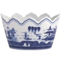 Blue Canton Monteith Cachepot | Gracious Style
