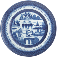 Blue Canton Large Dinner Plate | Gracious Style