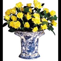Blue Canton Bough Vase | Gracious Style