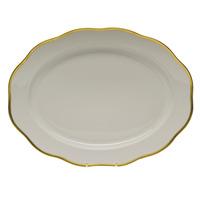 Gwendolyn Oval Platter 17