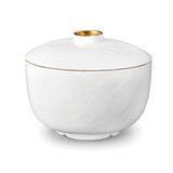 Han Gold Rice Bowl w/Lid | Gracious Style