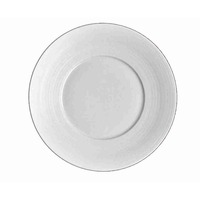 Hemisphere White Dessert Plate Large Center 8.3 in | Gracious Style