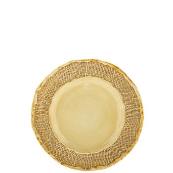 Vietri Jute Salad Plates  sc 1 st  Gracious Style & Naturally Stylish: New Jute Dinnerware from Vietri | Gracious Style Blog