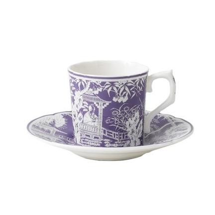 Mikado - Lavender Coffee Saucer | Gracious Style  sc 1 st  Gracious Style & Royal Crown Derby Mikado Lavender Dinnerware | Gracious Style