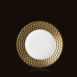 Aegean 24kt Gold Sculpted Bread & Butter Plate | Gracious Style