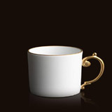 Aegean 24kt Gold Tea Cup | Gracious Style