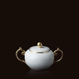 Aegean 24kt Gold Sugar Bowl | Gracious Style