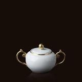 Aegean 24kt Gold Sugar Bowl | Gracious Style