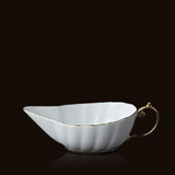 Aegean 24kt Gold Sauce Boat | Gracious Style