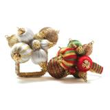 Holiday Ornament Napkin Rings