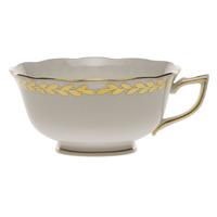 Golden Laurel Tea Cup (8 Oz) | Gracious Style