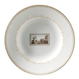 Impero Fiesole Rim Soup plate 10 in | Gracious Style