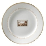 Impero Fiesole Round flat platter 12 in | Gracious Style