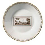 Impero Fiesole Large coffee saucer 5 in | Gracious Style