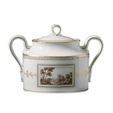 Impero Fiesole Sugar bowl with  lid 10 oz | Gracious Style