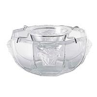 Medusa Lumiere Caviar Bowl w/insert, Crystal 3 pieces | Gracious Style