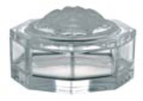 Medusa Lumiere Covered Box, Crystal 4 3/4 inch | Gracious Style