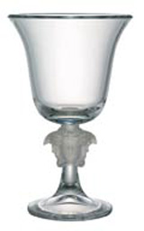 Medusa Lumiere Vase, Footed, Crystal 12 1/2 inch | Gracious Style