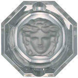 Medusa Lumiere Ashtray, Crystal 3 1/4 inch | Gracious Style