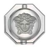 Medusa Lumiere Ashtray, Crystal 6 1/4 inch | Gracious Style