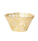 Rufolo Glass Gold Small Deep Bowl | Gracious Style