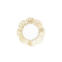 Rufolo Glass Gold Canape Plate | Gracious Style