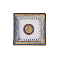 Chinoise Blue Square Tray Small  | Gracious Style