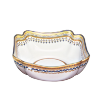 Chinoise Blue Small Square Bowl | Gracious Style