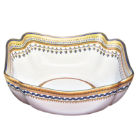 Chinoise Blue Large Square Bowl | Gracious Style
