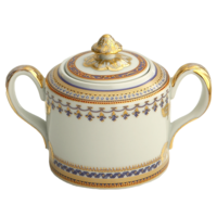 Chinoise Blue Sugar Bowl | Gracious Style