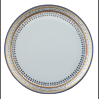 Chinoise Blue Crescent Salad Plate  | Gracious Style