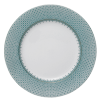 Green Lace Dinner Plate 10 in | Gracious Style