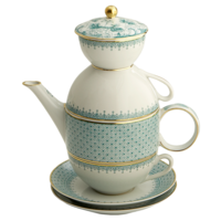 Tea For Two -Green Lace | Gracious Style