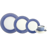 Blue Lace Five Piece Place Setting  | Gracious Style