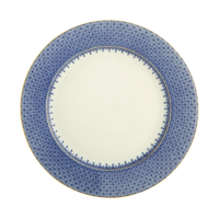 Blue Lace Dessert Plate 8.5 in | Gracious Style