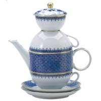 Tea For Two - Cobalt | Gracious Style