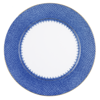 Blue Lace Service Plate | Gracious Style