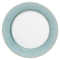 Green Lace Service Plate | Gracious Style