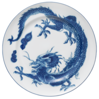 Blue Dragon Dinner Plate | Gracious Style